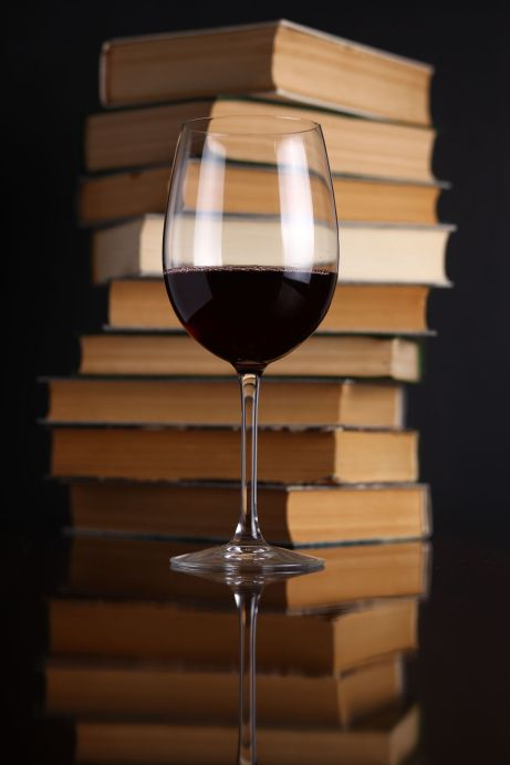 Books-and-red-wine