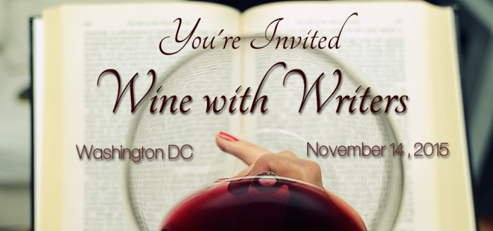Wine with Writers banner